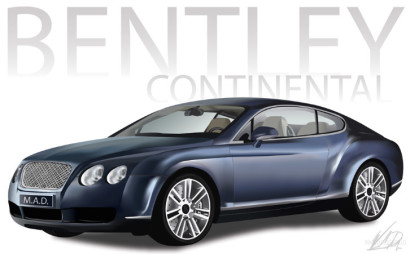 Bentley Illustration
