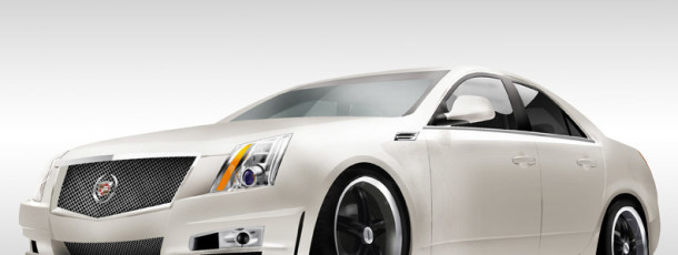 Cadillac CTS Illustration